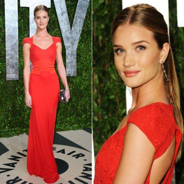 Звезды в красное платье