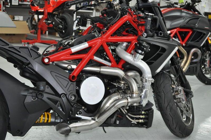 Турбина для мотоцикла