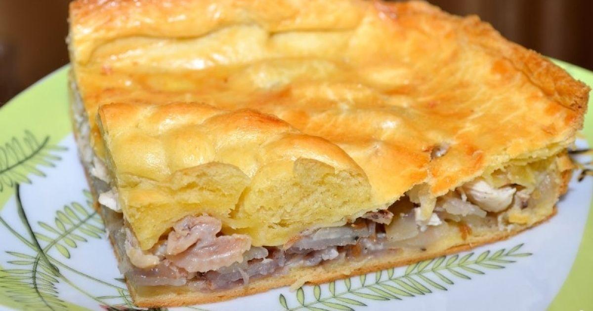 Пироги с картошкой и курицей с пошагово