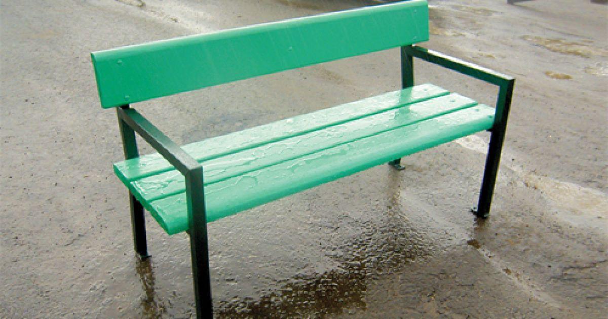 Как самому сварить скамейку