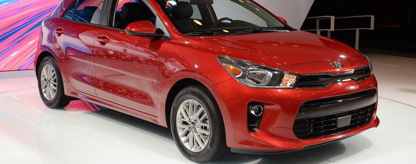 Kia rio 2018 новая модель новые