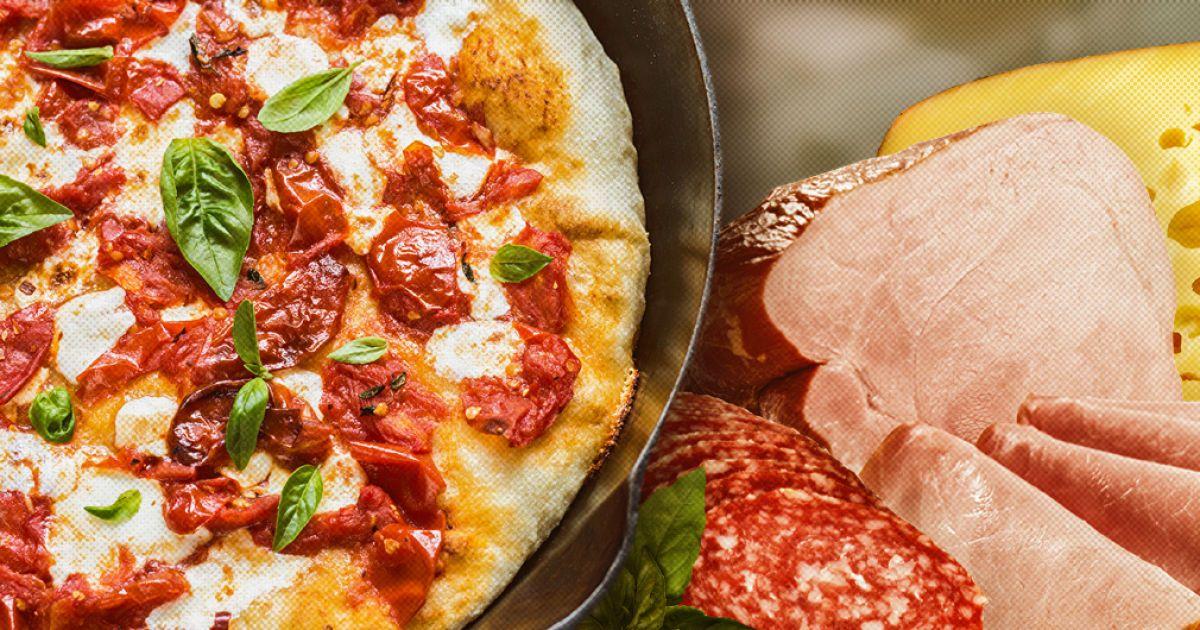 Пицца минутка пошаговый рецепт