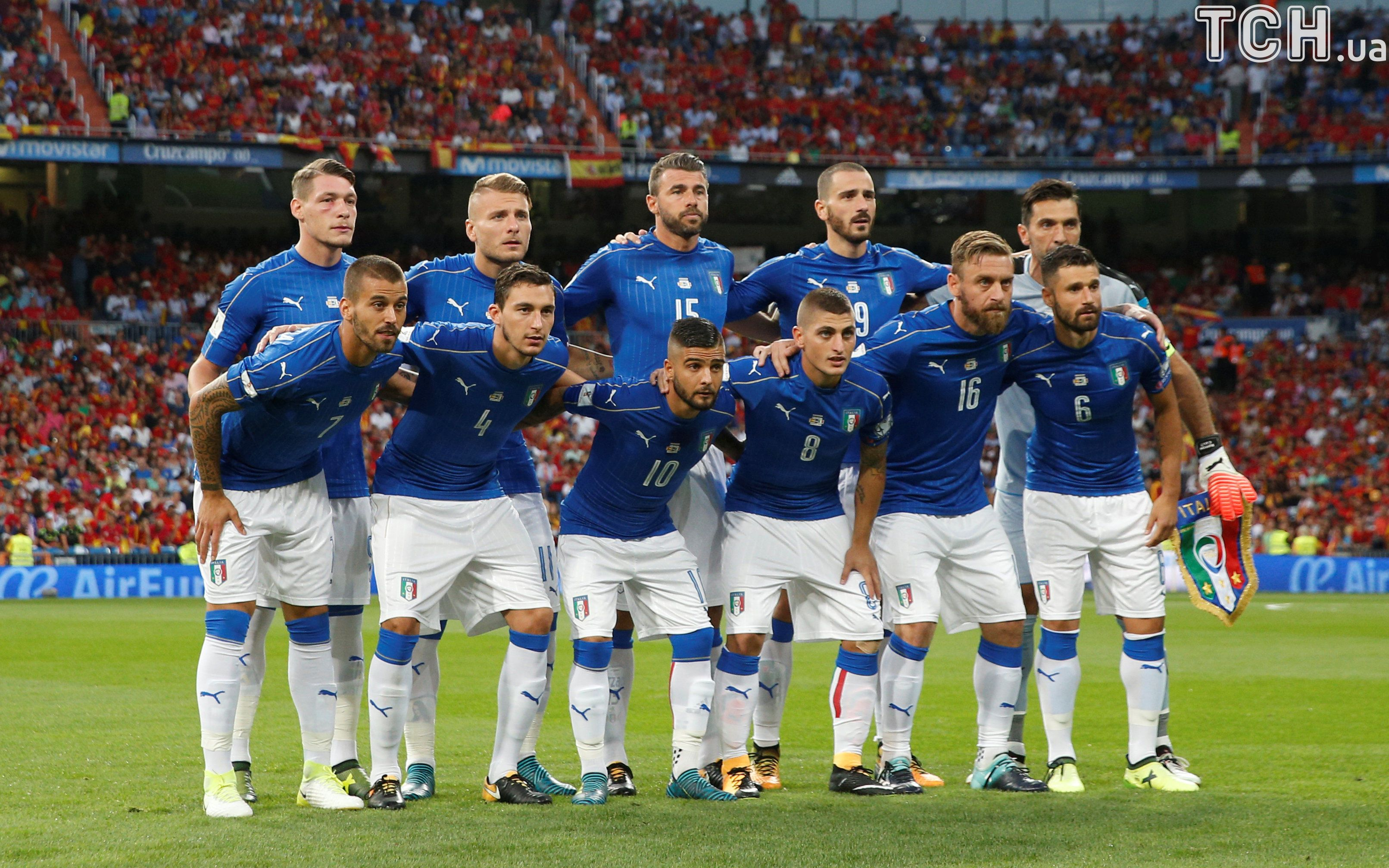 Italian soccer team pictures Saudi soccer team refuse to stand for London victims