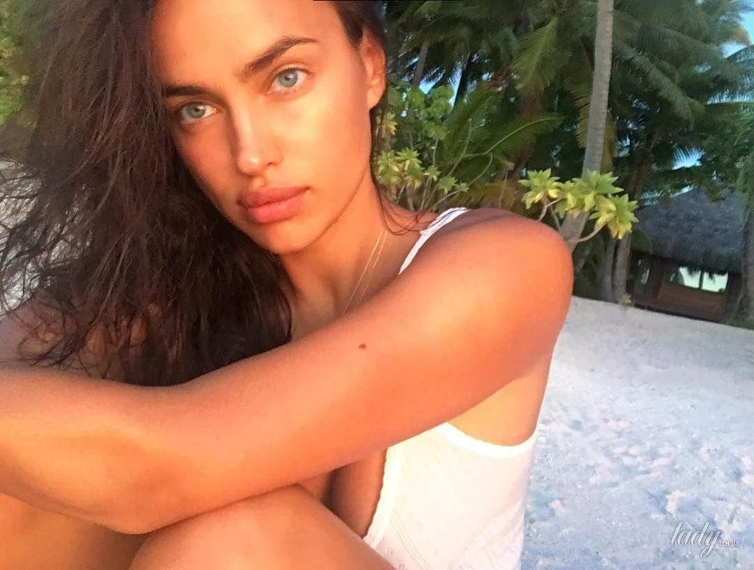 Ирина шейк фото макияжа