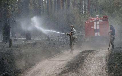 Под Киевом горит 5 гектаров леса