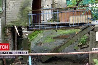 Новини України: у Дніпрі біля багатоповерхівки обвалилася бетонна плита з двома пенсіонерами