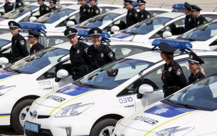 Патрульные Киева оштрафовали водителя главного полицейского столицы