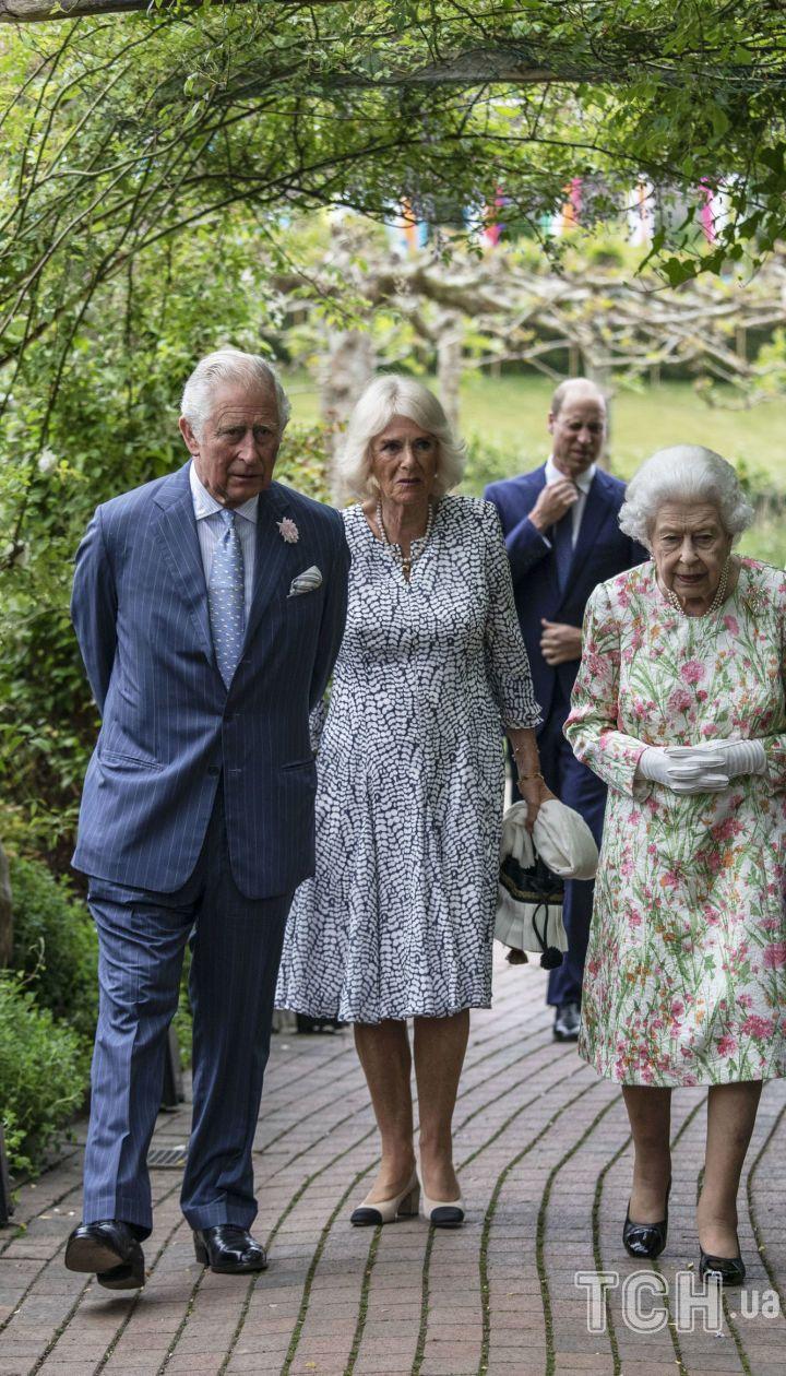 Королева Елизавета II на саммите G7 / © Associated Press