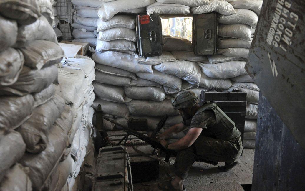 Бійці боронять позиції під Донецьком / © Reuters