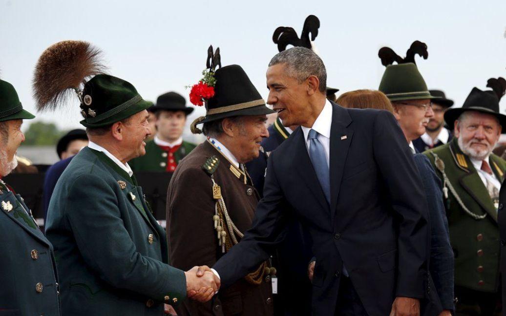 Обама прибыл на саммит G7 / © Reuters