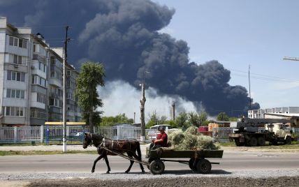 Кульбида рассказал, какие города может накрыть черное облако от пожара на нефтебазе