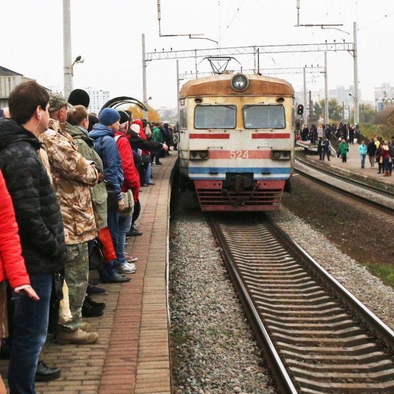 Городские электрички Киева не запустят 1 июня
