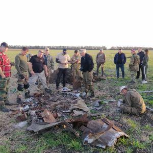 """""""Підбили, йдемо на таран, прощавайте"""": пошуковці з Кривого Рогу встановили екіпаж Іл-2, збитого під Кропивницьким"""