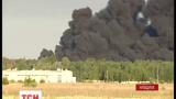 Пожарным удалось локализовать огонь на нефтебазе