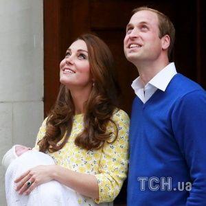 Нова принцеса Великої Британії: герцог Вільям і Кейт Міддлтон показали новонароджену донечку