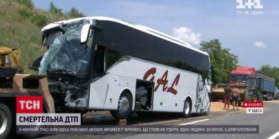 Тяжелое состояние и травмы: медики рассказали о пострадавших в аварии автобуса с зерновозов в Одесской области