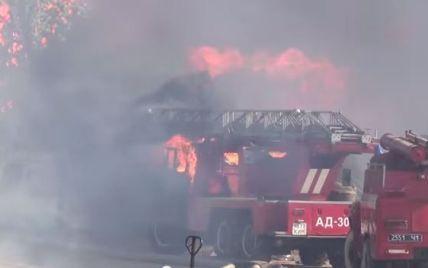 Минобороны готовится вывести танки для ликвидации пожара под Васильковом