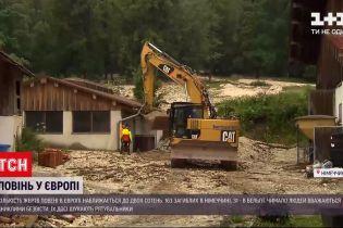 Новости мира: число жертв наводнения в Европе приближается к двум сотням