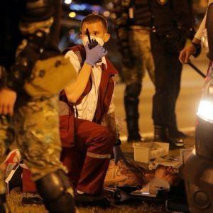 В Мережі повідомляють про першу смерть на протестах в Білорусі