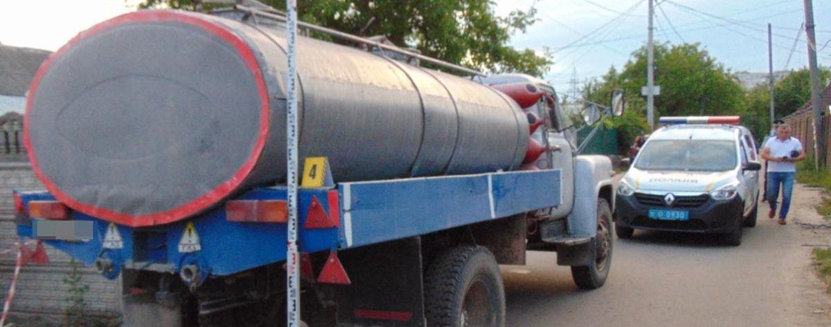 В Житомире под колесами грузовика погиб 5-летний мальчик