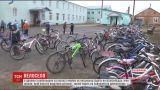 Селяне в Винницкой области массово пересели на велосипеды