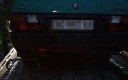 В Чернигове голый водитель убегал от патрульних после ДТП