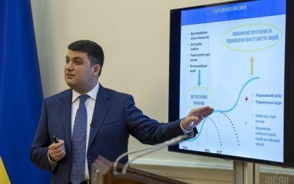 Трилетка Гройсмана. Основные показатели и нюансы нового плана развития Украины