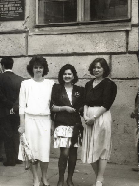 Руслана с мамой и сестрой / ©