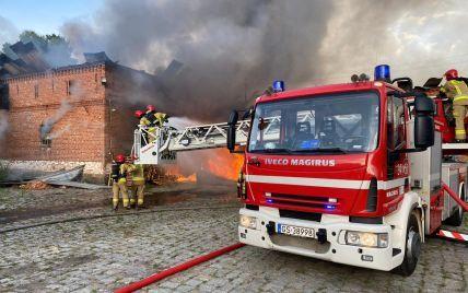 В Польше двое селян спасли из огня работников из Украины