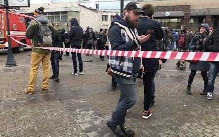 В Санкт-Петербурге после взрыва закрыли все станции метро