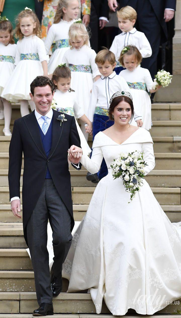 Весілля принцеси Євгенії / © Associated Press