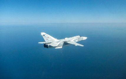 Над Черным морем британские истребители перехватили российский бомбардировщик: фото