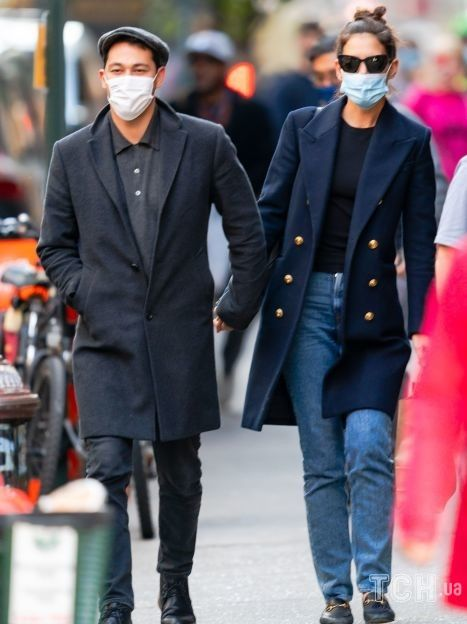 Кеті Голмс і Еміліо Вітоло / © Getty Images