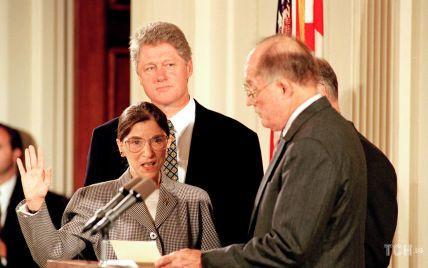 Стильная судья: как 28 лет назад Рут Гинзбург принесла присягу
