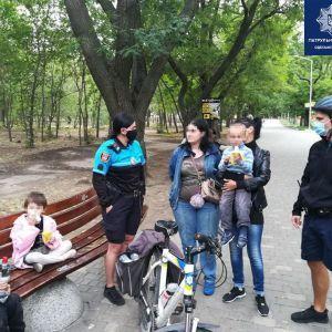 В Одессе женщина потеряла в парке соседского ребенка (фото)