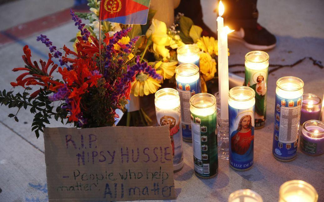 Вбивство репера Nipsey Hussle / © Associated Press