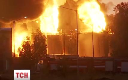 У пострадавших от пожара на нефтебазе под Васильковом на телах не осталось живого места