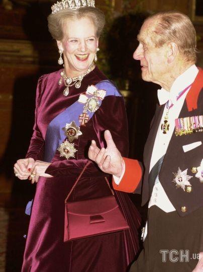 Королева Маргрете II і принц Філіп / © Getty Images