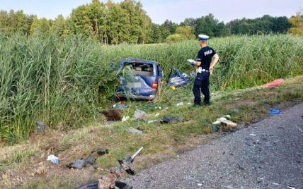 В Польше умер еще один украинец из автобуса, в который въехала пьяная водитель