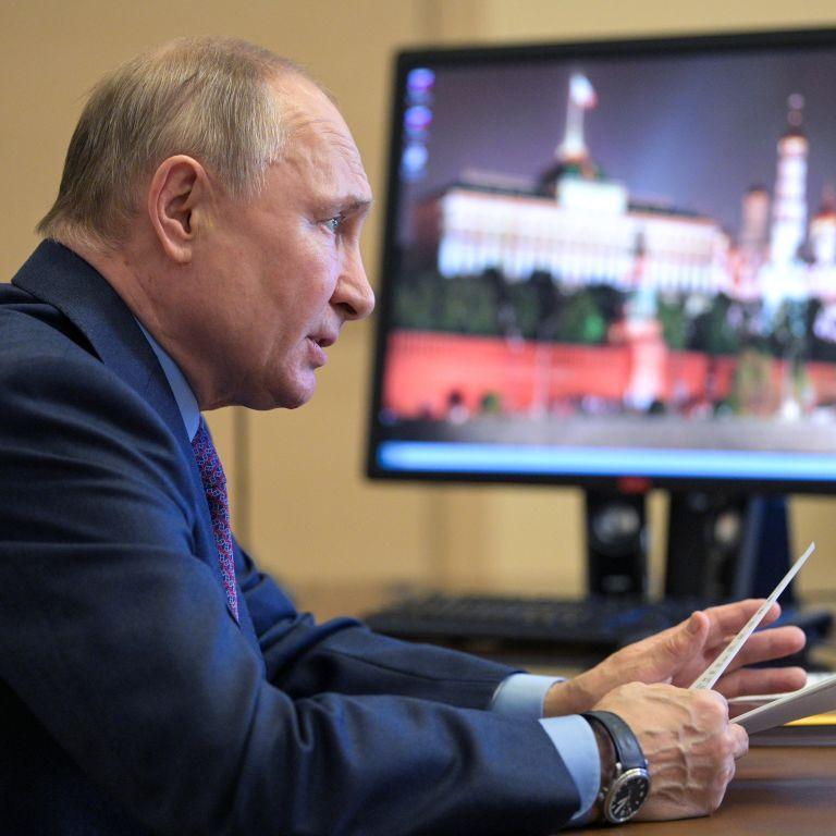 Путин демонстративно не поздравил Зеленского и президента Грузии с Днем победы