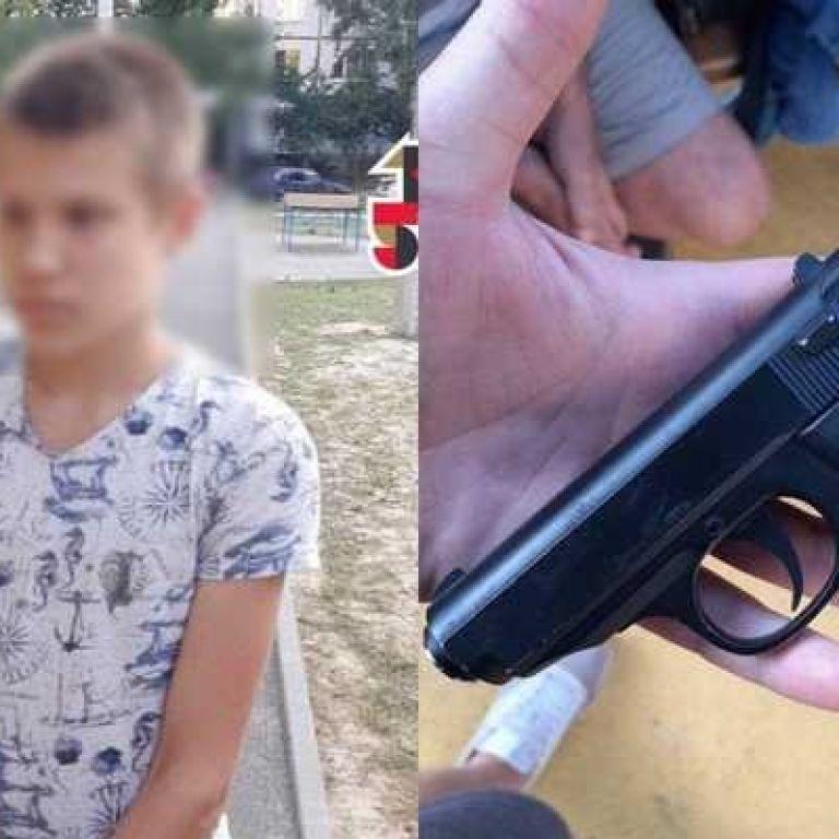 В Харькове школьник устроил стрельбу на детской площадке