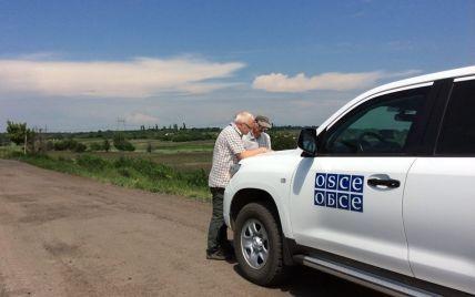Боевики обстреляли наблюдателей миссии ОБСЕ под Счастьем