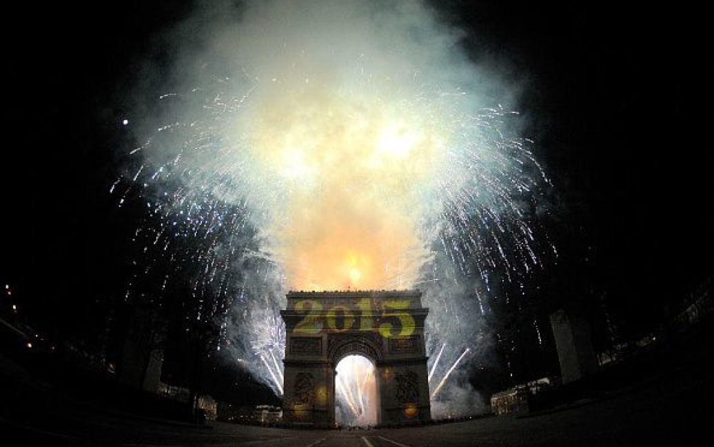 Святкування Нового року у Парижі, Франція. / © Getty Images