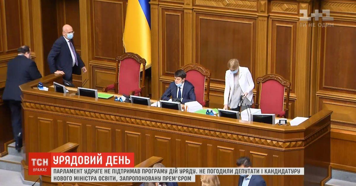 Депутаты не поддержали программу действий правительства и не согласовали кандидатуру нового министра образования