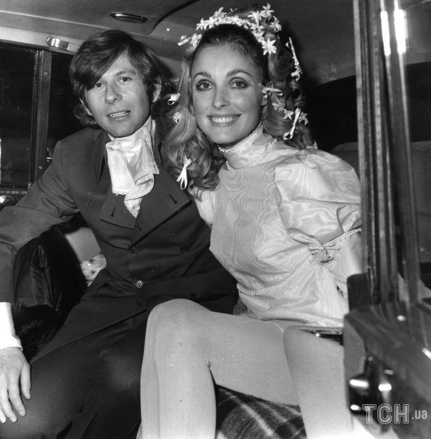 Роман Полански и Шэрон Тейт в день свадьбы / © Getty Images