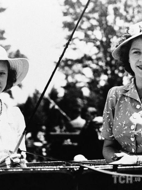 Принцессы Маргарет и Елизавета / © Associated Press