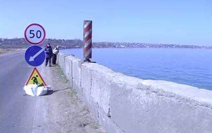 Дамба Хаджибейського лиману в Одесі на межі руйнування: чиновники звертатимуться до РНБО
