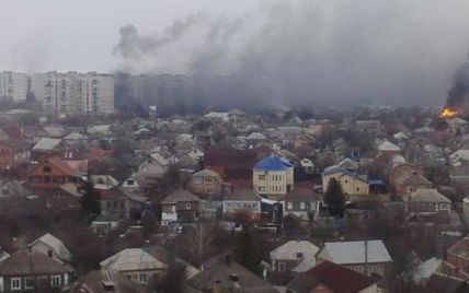 """Російські найманці обстріляли Маріуполь """"Градами"""" з боку селищ Саханка та Заїченка"""
