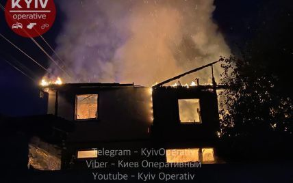 Смертельный пожар на Русановских садах: в столице заживо сгорел человек