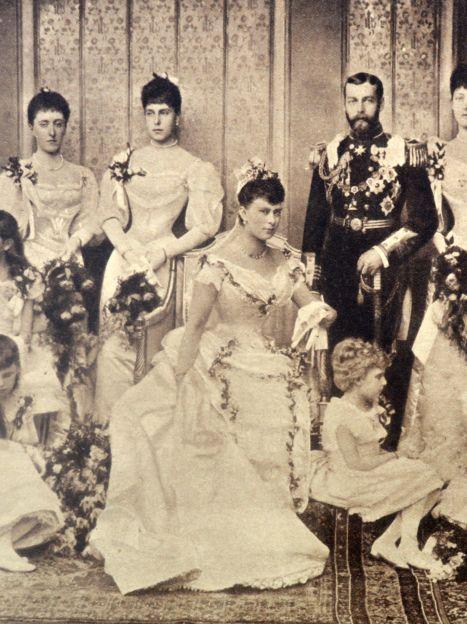 Мария Текская и король Георг V, свадьба / © Getty Images